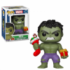 Funko POP! Holiday - Hulk Stocking & Plush Vinyl Figura 10cm