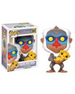 Funko POP! Disney The Lion King - Rafiki Simbával