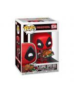 Funko POP! Marvel Holiday - Deadpool Vinyl Figura 10cm