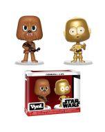 Funko VYNL 2-Pack: Star Wars - Chewbacca & C-3PO Vinyl Figurák 10cm