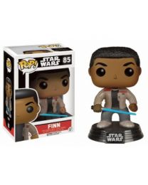 Funko POP! Star Wars - The Force Awakens: Finn with Lightsaber - Vinyl Figure 10cm