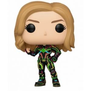 Funko POP! Captain Marvel - Captain Marvel Neon ruhában Vinyl Figura 10cm