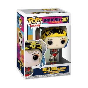 Funko POP! Birds of Prey - Harley Quinn (Roller Derby) Vinyl Figura 10cm