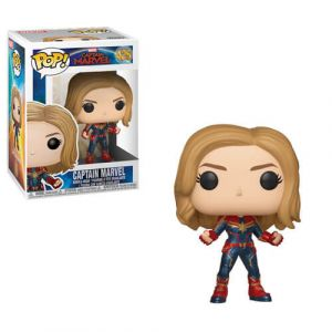 Funko POP! Captain Marvel - Captain Marvel Vinyl Figura 10cm