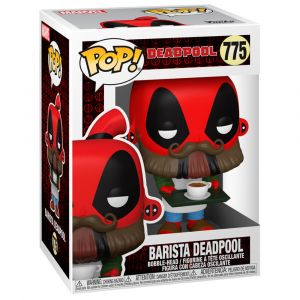 Funko POP! Deadpool 30th - Coffee Barista Vinyl figura 10cm