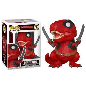 Funko POP! Deadpool 30th - Dinopool Vinyl figura 10cm