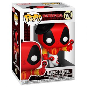 Funko POP! Deadpool 30th - Flamenco Deadpool Vinyl figura 10cm