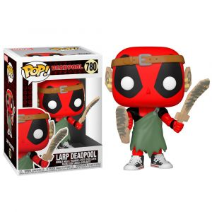 Funko POP! Deadpool 30th - L.A.R.P. Deadpool Vinyl figura 10cm