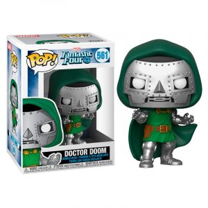 Funko POP! Fantastic Four - Doctor Doom Vinyl Figura 10cm
