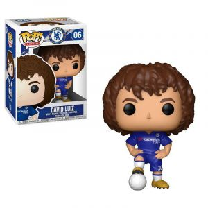 Funko POP! Football - EPL: Chelsea: David Luiz Vinyl Figura 10cm