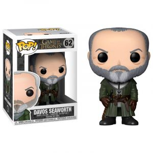 Funko POP! Game of Thrones - Ser Davos Seaworth Vinyl Figura 10cm
