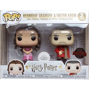 Funko POP! Harry Potter Hermione and Krum Yule Exclusive 2 figurás szett
