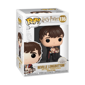 Funko POP! Harry Potter - Neville Monster Book Vinyl Figura 10cm