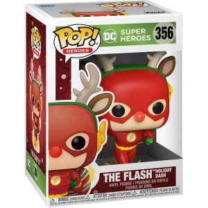 Funko POP! Heroes: DC Holiday - Rudolph Flash Vinyl Figura 10cm