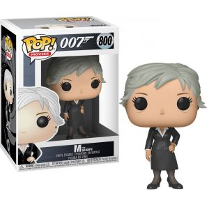 Funko POP! James Bond - M Vinyl Figura 10cm