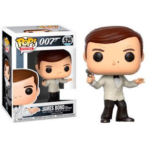 Funko POP! James Bond Roger Moore White Tux Exclusive Vinyl figura 10cm