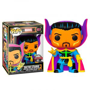 Funko POP! Marvel Black Light Dr. Strange Exclusive Vinyl figura 10cm