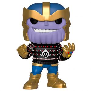 Funko POP! Marvel Holiday - Thanos Vinyl Figura 10cm