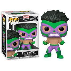 Funko POP! Marvel Lucha Libre - Hulk Vinyl figura 10cm