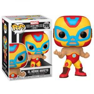 Funko POP! Marvel Lucha Libre - Iron Man Vinyl figura 10cm