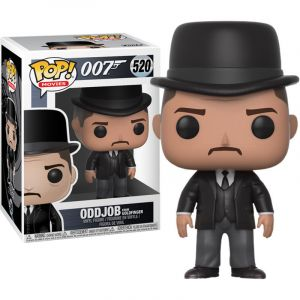 Funko POP! Movies James Bond - Goldfinger: Oddjob Vinyl Figura 10cm