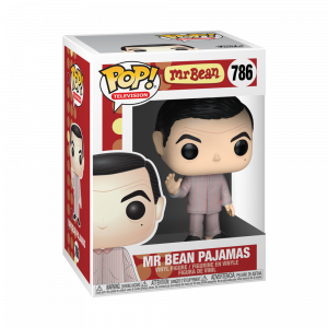 Funko POP! Mr Bean Pajamas Vinyl Figura 10cm