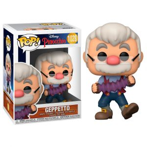 Funko POP! Pinocchio - Geppetto accordion Vinyl figura 10cm