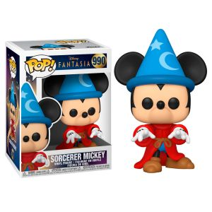 Funko POP! POP Disney: Fantasia 80th - Sorcerer Mickey Vinyl Figura 10cm