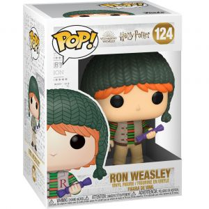 Funko POP! POP HP: Holiday - Ron Weasley Vinyl Figura 10cm