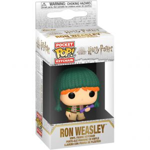 Funko POP! POP Kulcstartó: Harry Potter Holiday - Ron