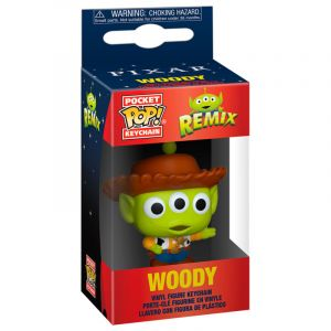 Funko POP! POP kulcstartó: Pixar- Alien as Woody Vinyl Figura