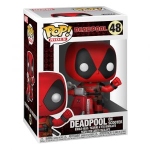 Funko POP! Rides Deadpool - Deadpool & Scooter Vinyl figura