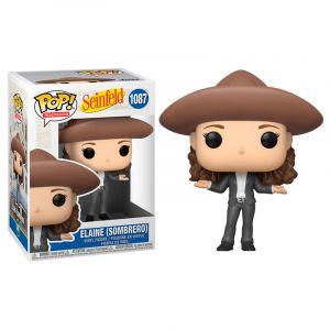 Funko POP! Seinfeld - Elaine in Sombrero Vinyl Figura 10cm
