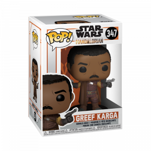 Funko POP! Star Wars: Mandalorian - Greef Karga Vinyl Figura 10cm