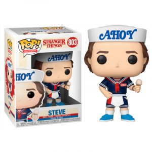 Funko POP! Stranger Things 3 Steve with Hat and Ice Cream Vinyl Figura 10cm