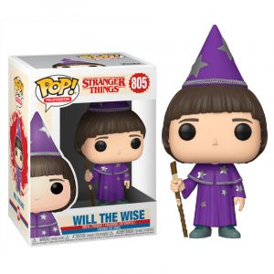 Funko POP! Stranger Things 3 Will the Wise Vinyl Figura 10cm