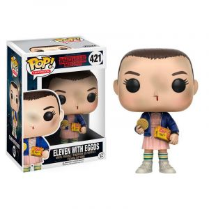 Funko POP! Stranger Things Eleven with Eggos Vinyl Figura 10cm