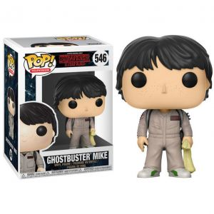 Funko POP! Stranger Things Ghostbuster Mike Vinyl Figura 10cm