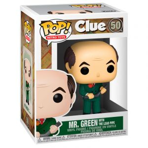 Funko POP! Vinyl - Clue - Mr.Green Lead Pipe Vinyl figura 10cm