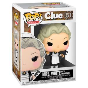 Funko POP! Vinyl - Clue - Mrs.White Wrench Vinyl figura 10cm