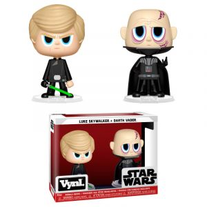 Funko VYNL: Star Wars - Darth Vader & Luke Skywalker (ROTJ) Vinyl Figura 10cm