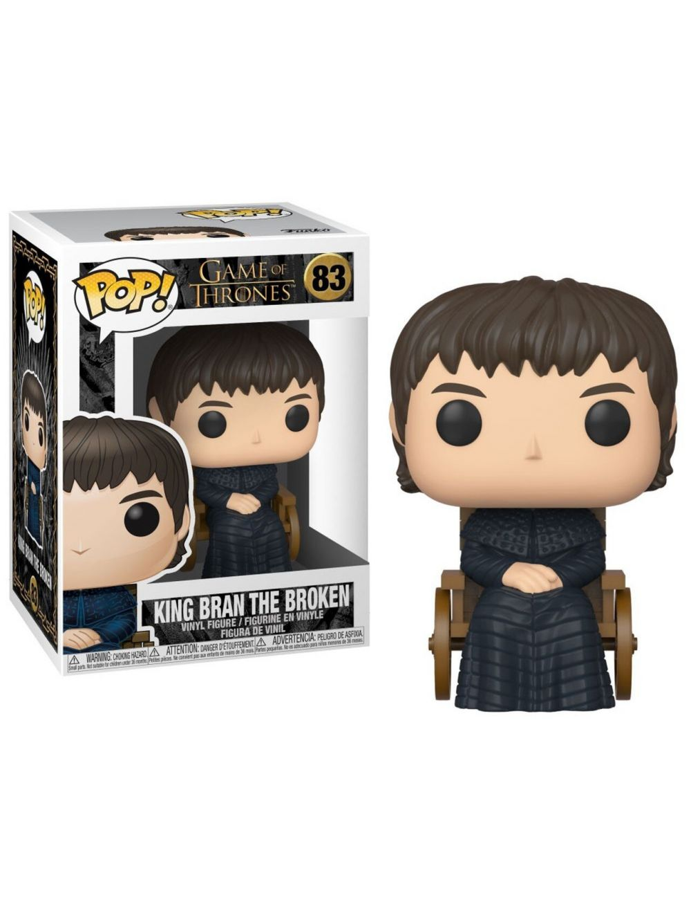 Funko POP! Game of Thrones - King Bran The Broken Vinyl Figura 10cm