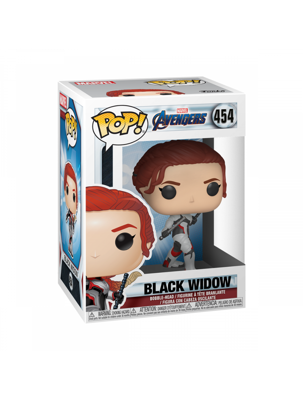 Funko POP! Avengers Endgame - Black Widow Vinyl Figura 10cm