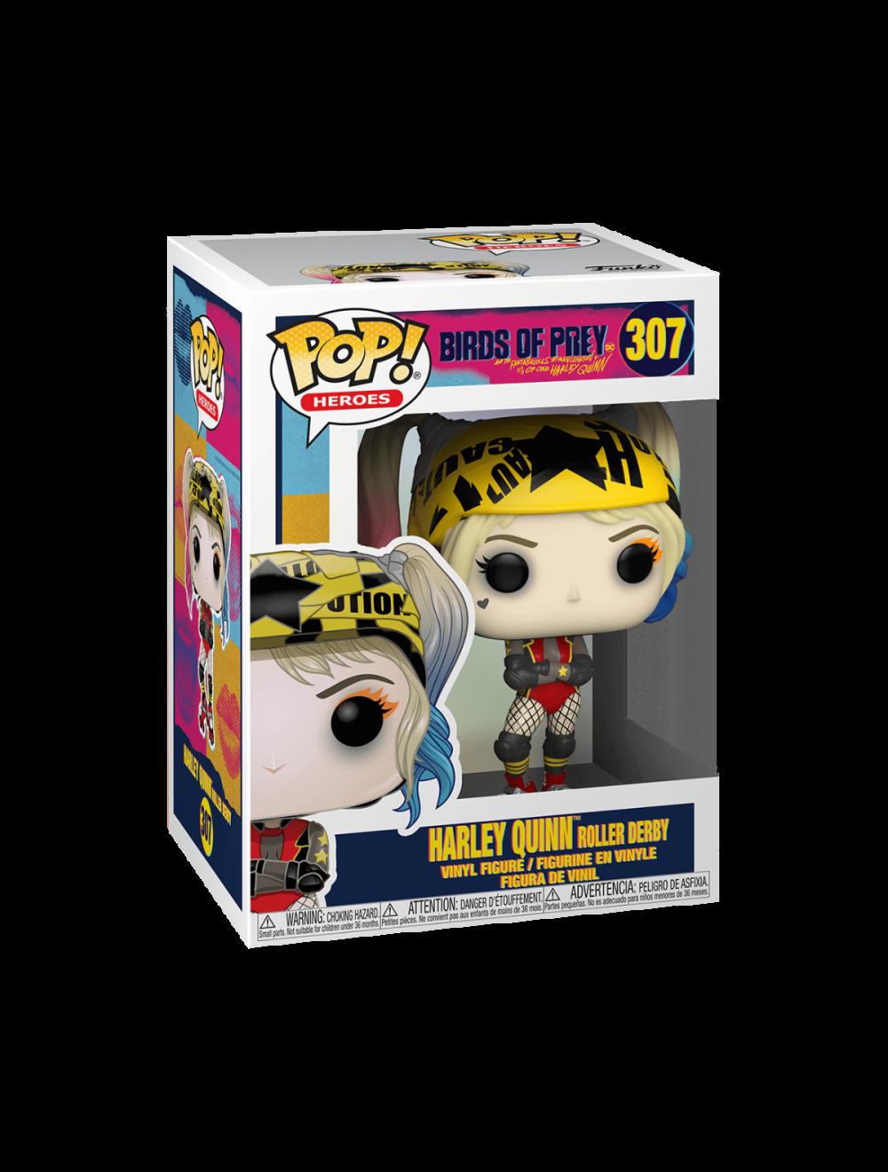 Funko POP! Birds of Prey - Harley Quinn (Roller Derby) Vinyl Figura 10cm