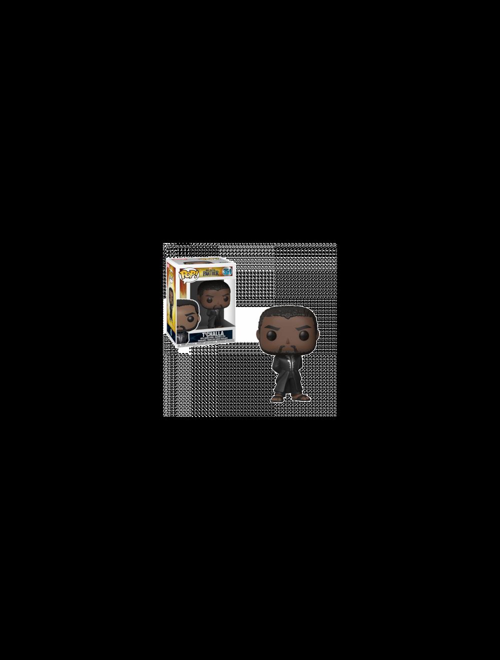 Funko POP! Black Panther - Black Panther Robe (Fekete) Vinyl Figura 10cm