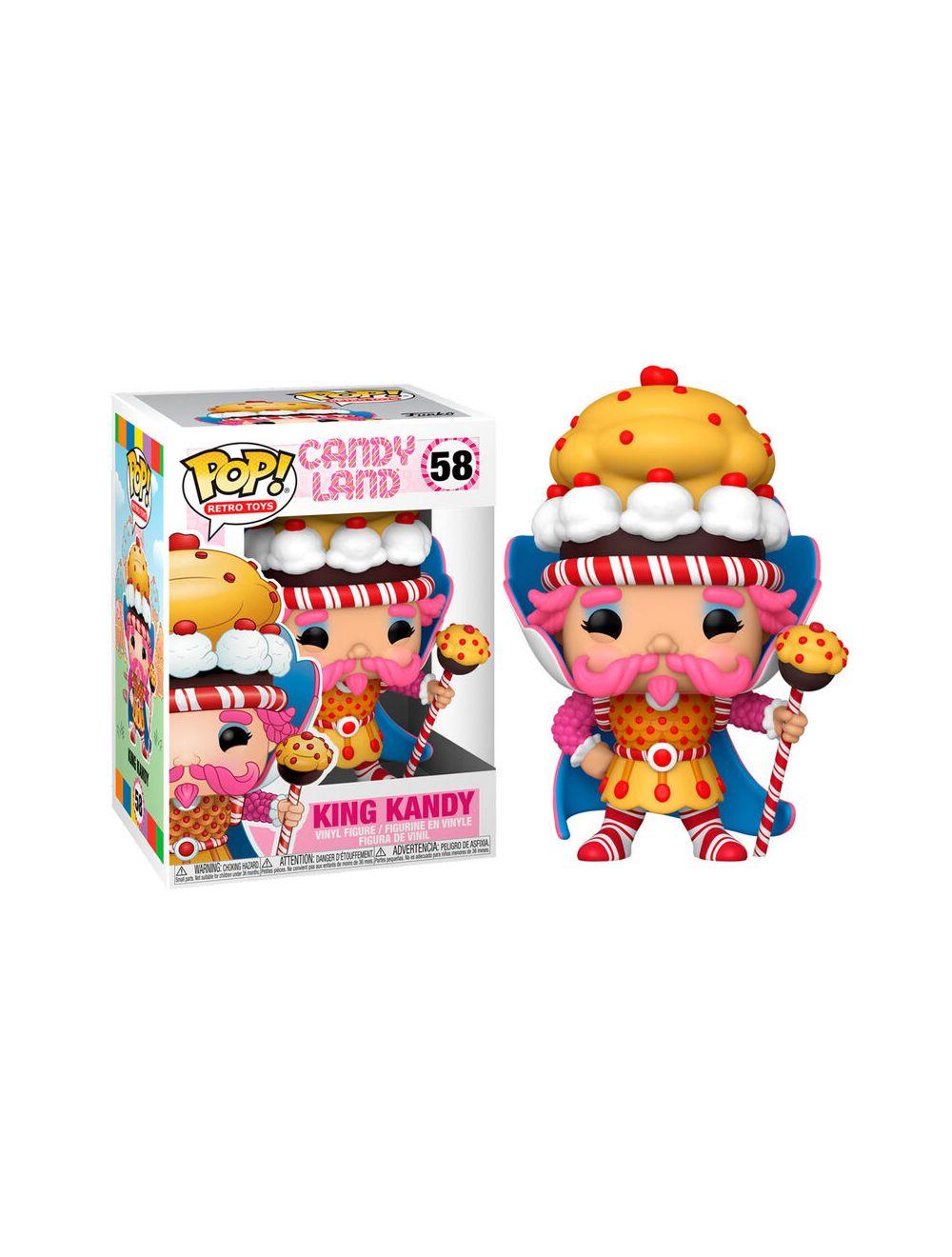 Funko POP! Candyland - King Kandy Vinyl figura 10cm