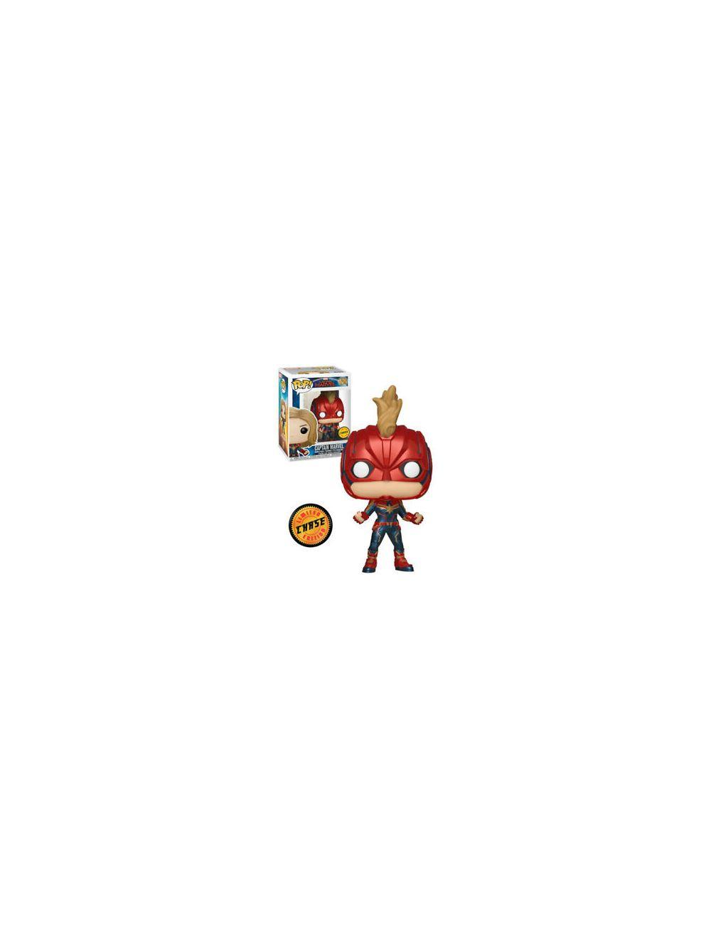 Funko POP! Captain Marvel - Captain Marvel - Chase Vinyl Figura 10cm