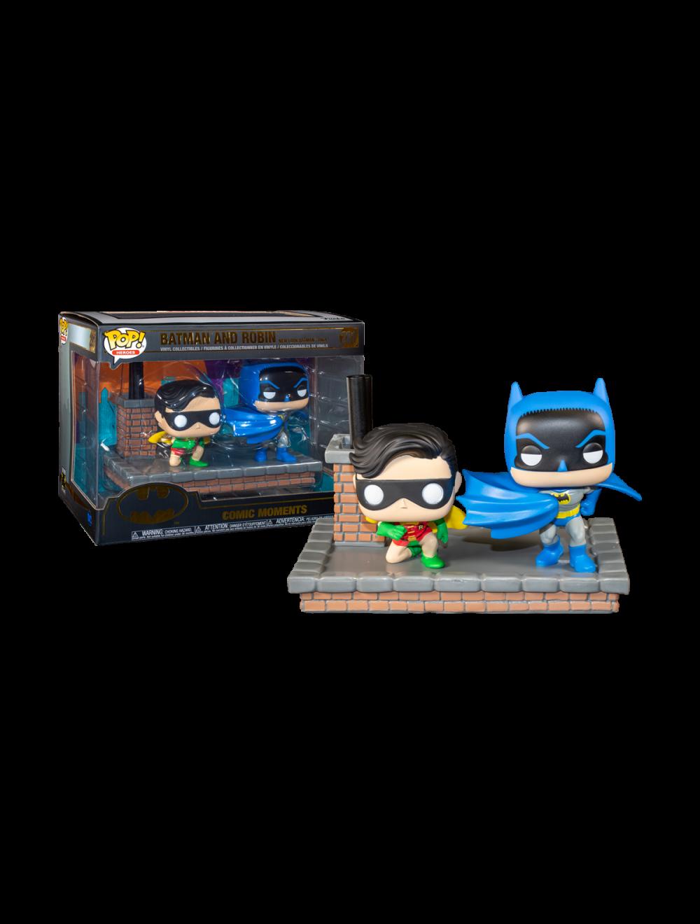 Funko POP! Comic Moment Batman 80th - 1964 Batman and Robin Vinyl Figurak