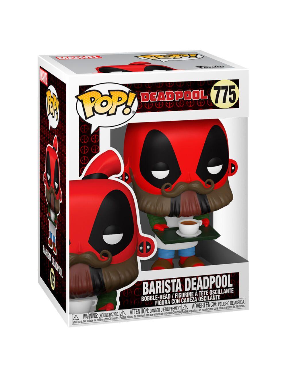 Funko POP! Deadpool 30th - Coffee Barista Vinyl figura 10cm