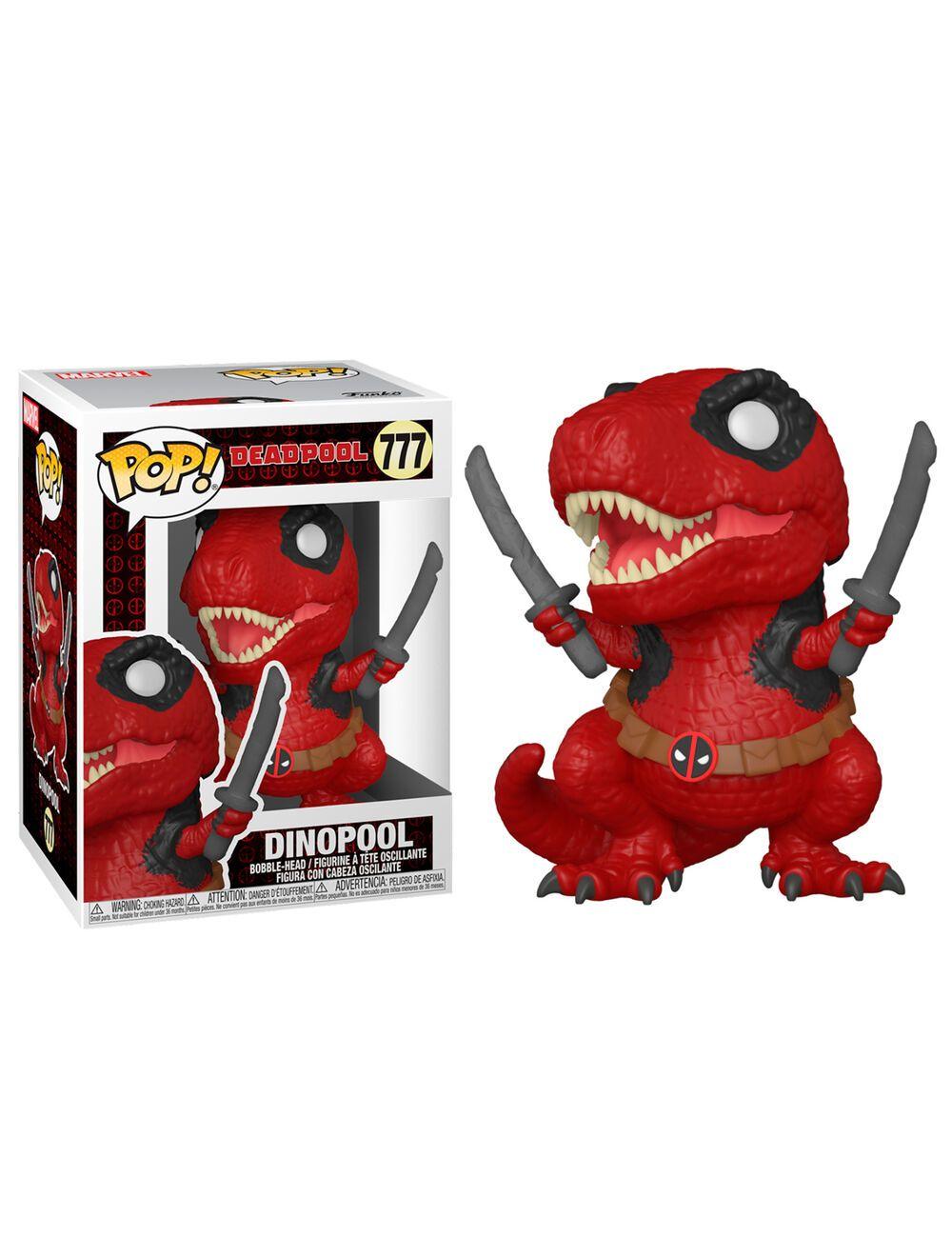 Funko POP! Deadpool 30th - Dinopool Vinyl figura 10cm